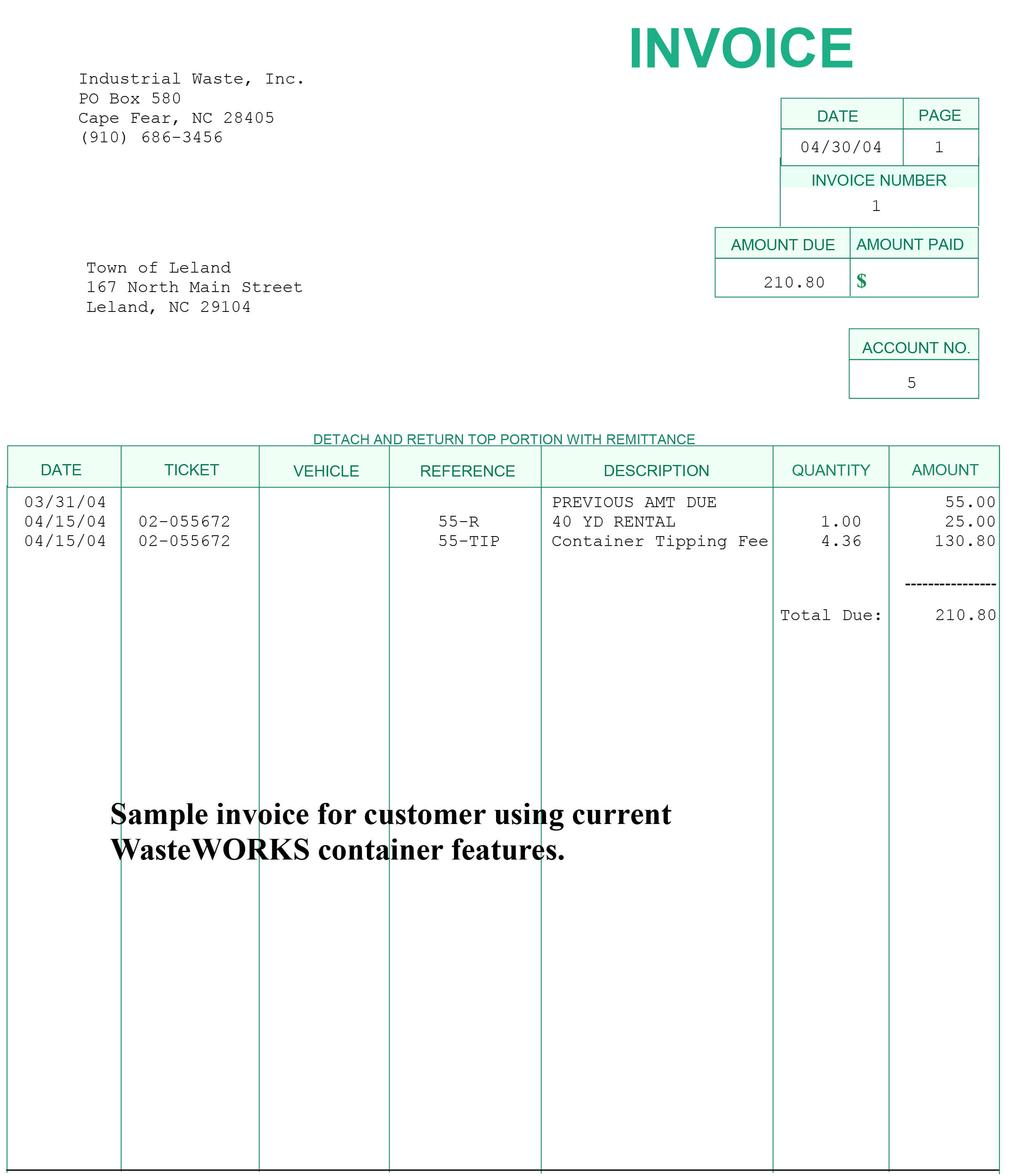 simple invoice software